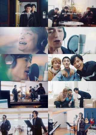 香取慎吾 AmazonMusic CM サムネイル画像